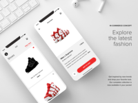 M-commerce App Concept