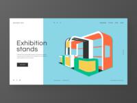 Exhibition s - concept redesign website