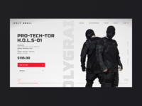 HOLYGRAIL- product page redesign concept