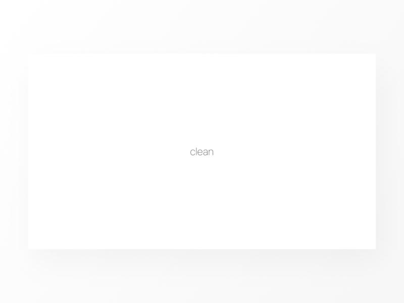 Concept redesign clean design vector white logo landing website web typography minimal ui clean ui design clean
