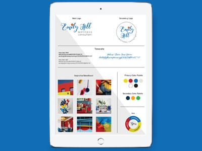 Emilyhillwellness Branding