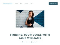 Blog layout 2