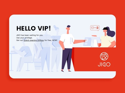 VIP vip ui design illustration