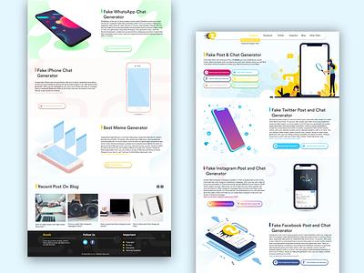 A Website Full of Art illustrator ui  ux uiux ui design web design website design webdesign typography web design branding app website illustration ux ui
