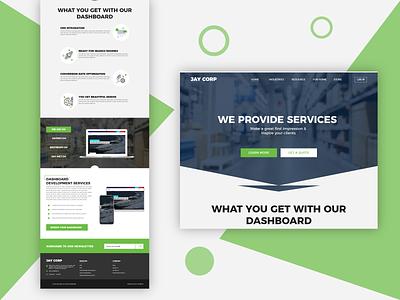 Jay Corp Website Design graphic design logo art uiux animation ui design minimal icon website design webdesign typography web website illustration ux ui