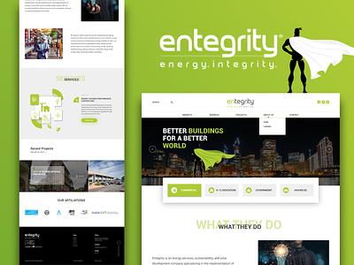 Trending Website design for Entegerity graphic design art uiux ui  ux uidesign web design ui design website design vector webdesign branding app web design website illustration ux ui