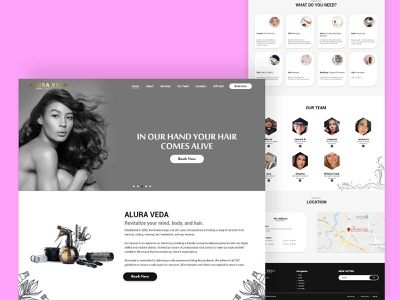 website design for Alura Veda website designer designs web design agency web design and development web design company web designer web design ui design branding website design webdesign design web website illustration ui ux