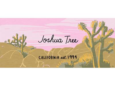 Joshua Tree drawing nature illustration nature outdoors nps desert national park california joshua tree