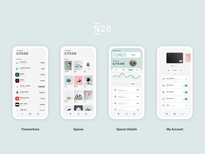 N26 App uidesign app n26 ux ui