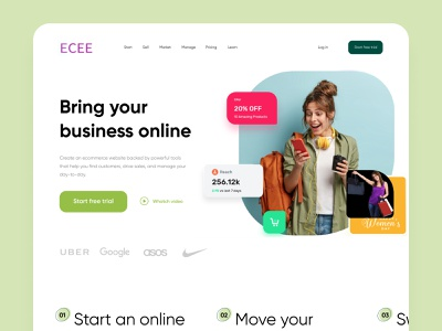Ecee Landing Page