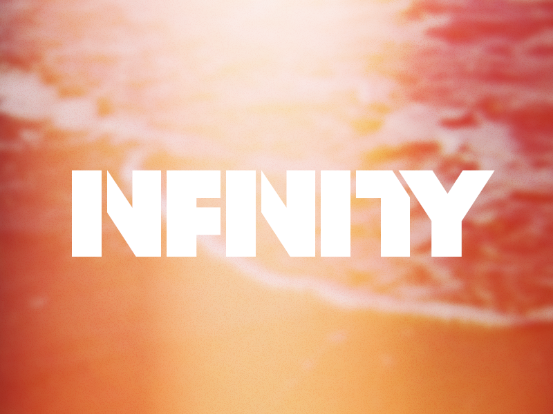 infinity word mark by jared fitch dribbble