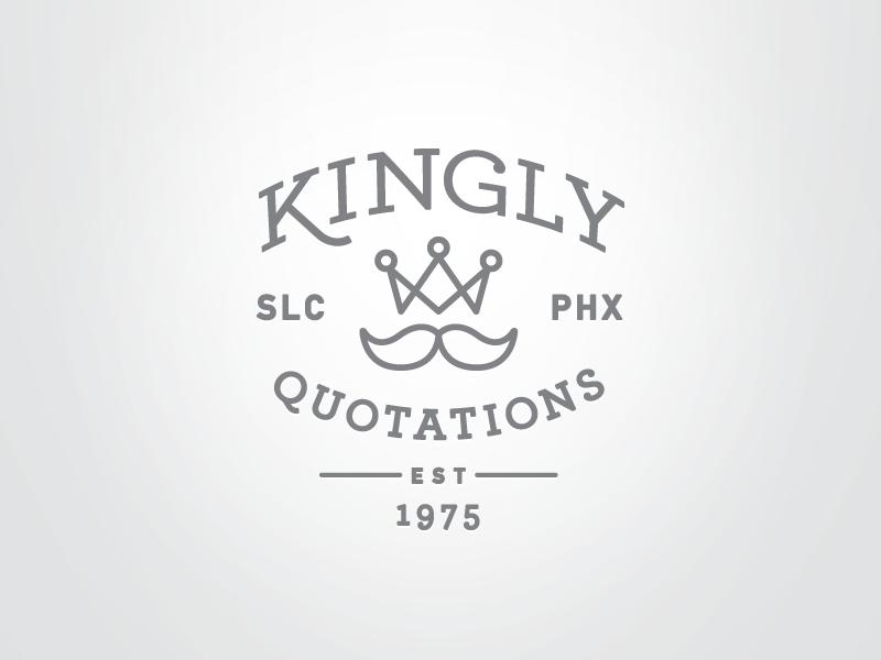 Kingly quotations badge ii