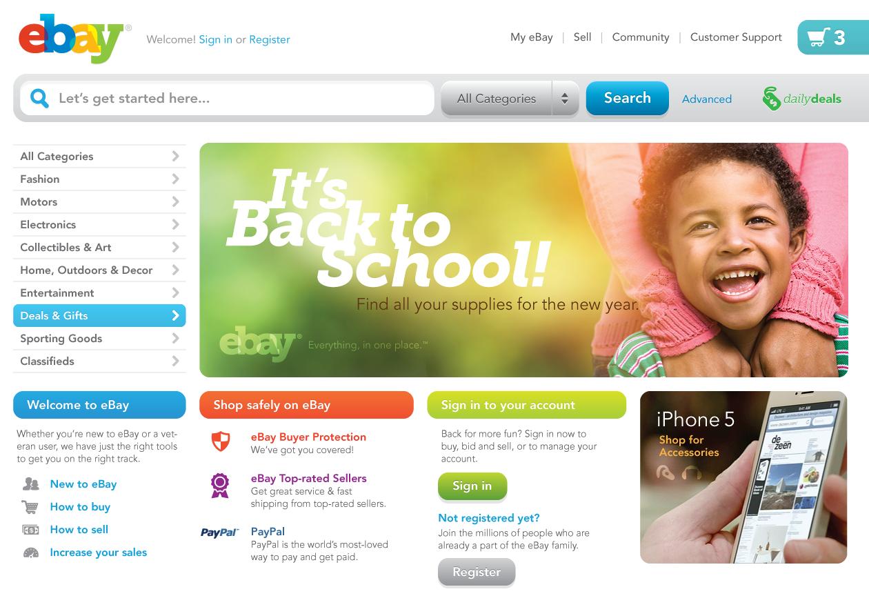 Fitch ebay redesign