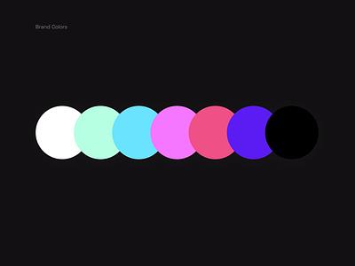 underline colors web branding webdesign gradient branding process ui design colors