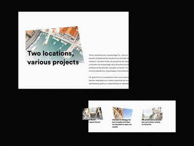 AA Architects — About aboutpage about photos photo webdesign website web shapes typography ux ui design