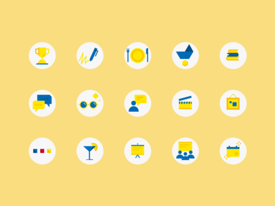 Event icons 3/3