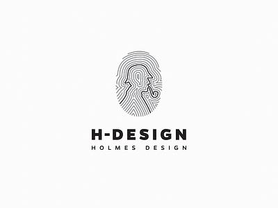 Holmes Design illustration holmes logos identity branding identity design idenity branding logodesign logo design logotype logo