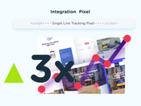 Landing page graphics