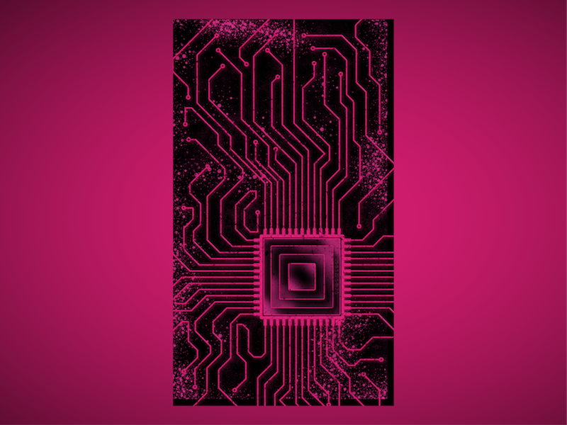 Circuit Board Phone Wallpaper by Andrew Ordway on Dribbble