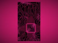 Circuit Board Phone Wallpaper