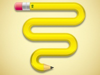 Curvy Pencil