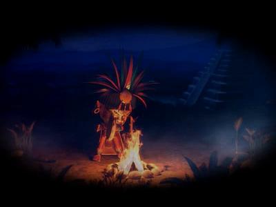 Ikitan's Quest secrets sand sanctuary ruins riddles quest pyramid prize palms maya masks jungle idols hieroglyphs golden chest character gambling slot design slot machine