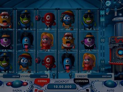 Special symbol – Wild character symbol digital art slot design animation 3d graphic game design gambling game art slot machine
