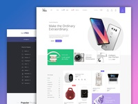 SellPro - eCommerce Template Design