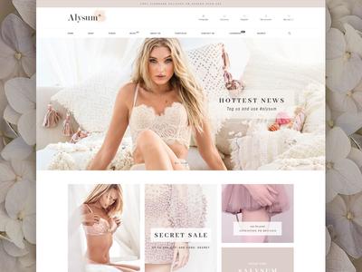 Alysum - Premium Prestashop 1.7 Theme theme retail shop design lingerie prestashop ecommerce