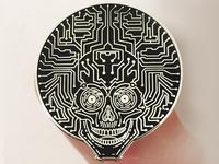 Neuro Funk Express Pin