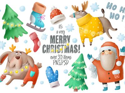 Beautiful Christmas set!