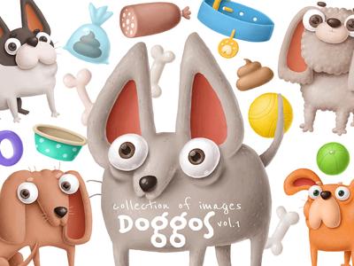 I really love doggos :D