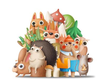 Woodland gang