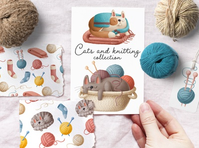 knitting illustrations
