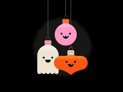 Vectober 17 - Ornament jackolantern vampire ghost halloween ornament geometric inktober vectober texture flat illustration