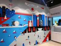 Xfinity Store Mural