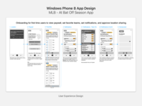 UX Design for a Windows Phone 8 App