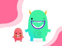 Komoda Sign-Up Monsters