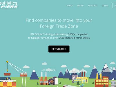 Nautilytics - FTZ Product Homepage marketing homepage