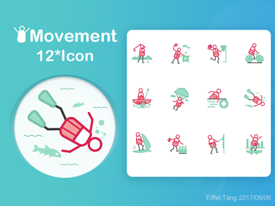 movement  icon