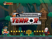 Catch The Terror 2d Game