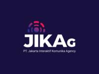 Logo design for JIKAG - Jakarta Interaktif Komunika Agency