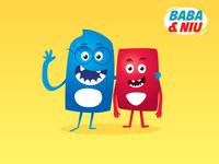 """Comic Strip """" Baba & Biu """""""