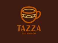 Tazza - Coffee Shop Logo