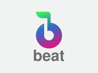 Beat Logo for Music App