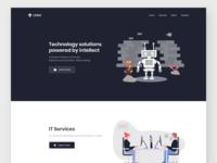 Landing page - Technology