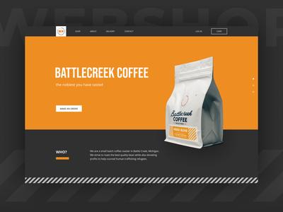 Battlecreek coffee website
