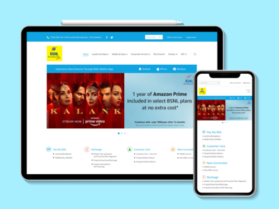 BSNL - Redesigned