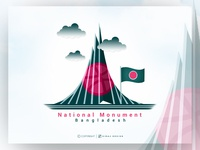 National Monument of  Bangladesh