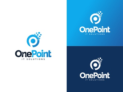 One Point It Solutions Logo